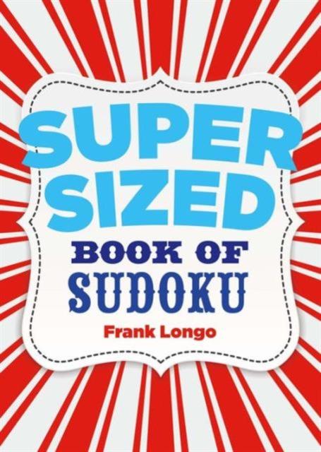 Supersized Book of Sudoku футболка the hundreds the hundreds simple adam t shirt navy