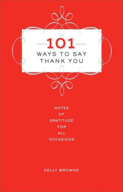 101 Ways to Say Thank You guide to good manners
