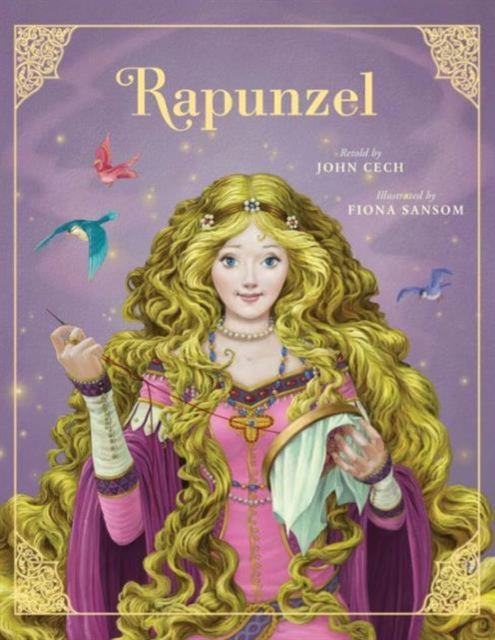 Rapunzel john escott girl on a motorcycle
