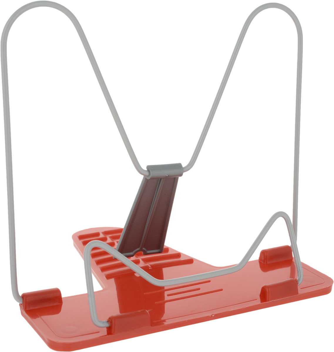 Action! Подставка для книг Fancy цвет красныйFBH01Классическая металлическая подставка для книг Action! Fancy станет незаменимым аксессуаром на столе у школьника или студента. Подставка оснащена упором, благодаря чему она имеет несколько углов наклона. Характеристики: Материал:металл, пластик. Размер подставки в сложенном виде: 17 см х 19 см х 1 см. Изготовитель: Россия.