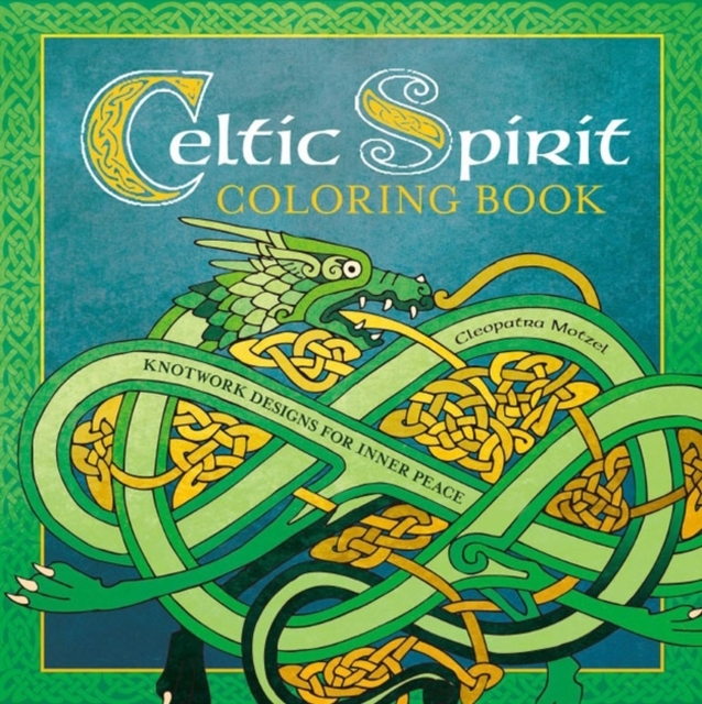 Celtic Spirit Coloring Book coloring of trees