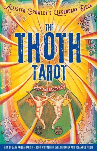 Thoth Tarot Book and Cards Set the classic tarot карты