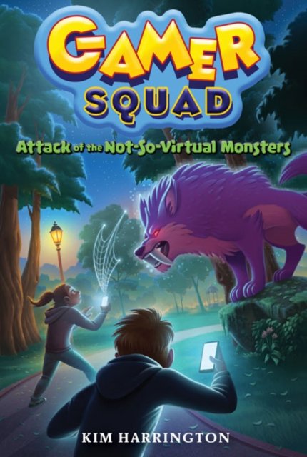 Attack of the Not-So-Virtual Monsters romping monsters stomping monsters