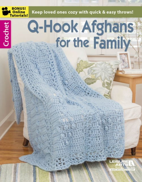 Q-Hook Afghans For the Family baby afghans
