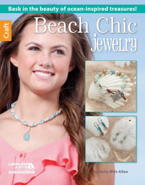 Beach Chic Jewelry starfish necklace and earrings set