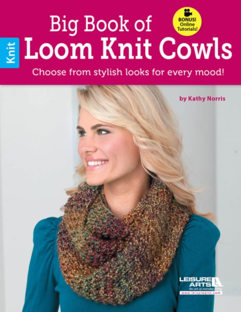 Big Book of Loom Knit Cowls шорты quelle fruit of the loom 476845