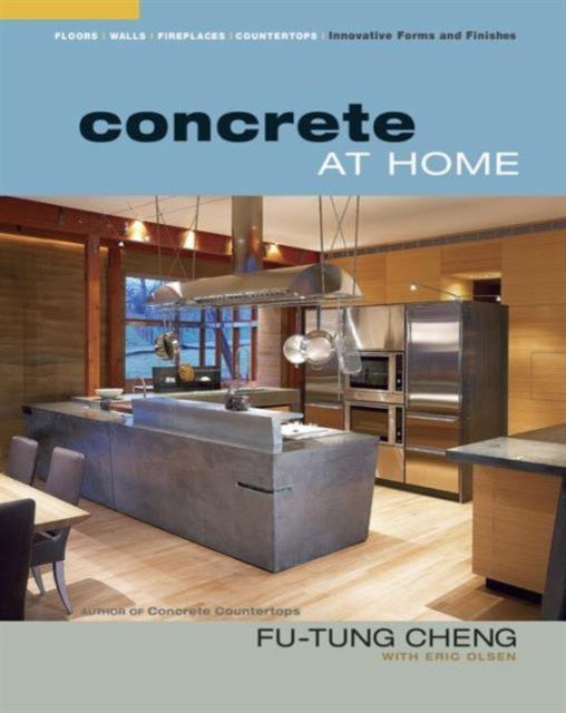 Concrete at Home concrete countertops