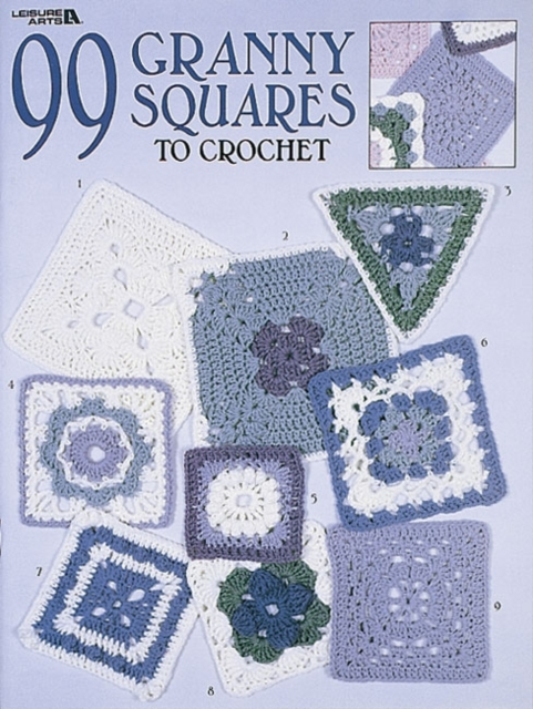 99 Granny Squares to Crochet the granny project