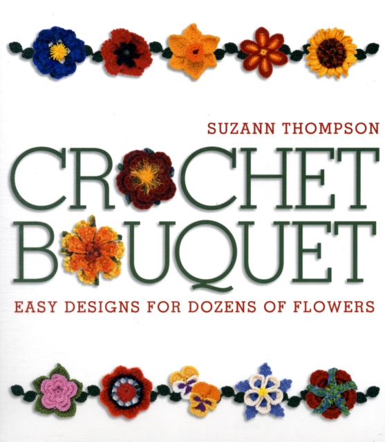 Crochet Bouquet spring in the garden flowers and seedlings