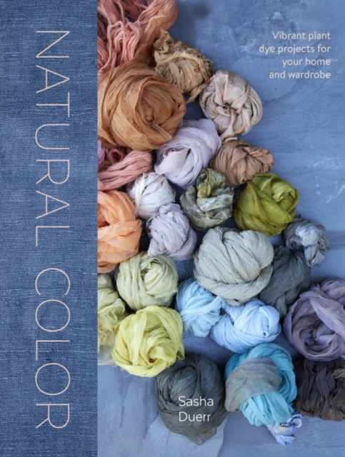 Natural Color eco friendly dyeing of silk with natural dye