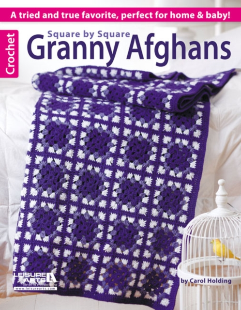 Square by Square Granny Afghans baby afghans