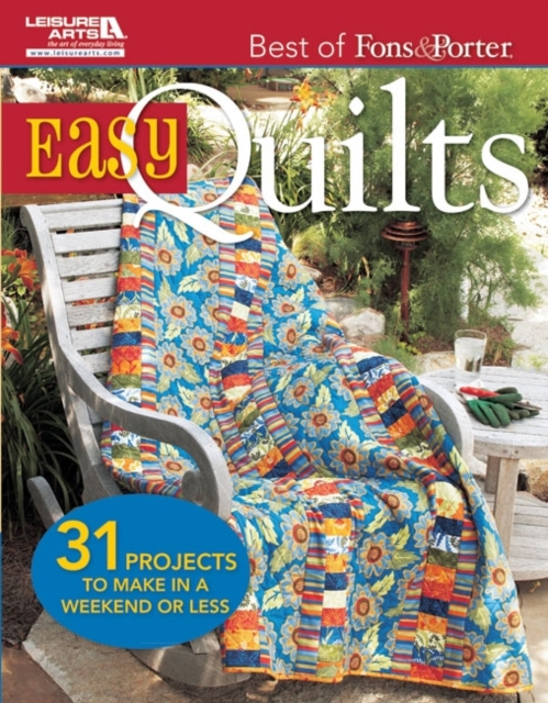 Best of Fons & Porter: Easy Quilts an elm creek quilts companion