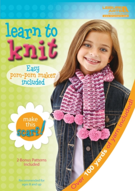 Learn to Knit: Scarf Kit