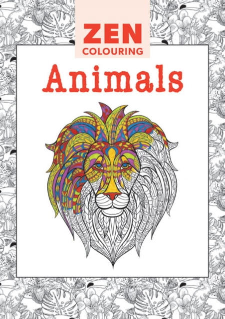 Zen Colouring - Animals british museum around the world colouring book