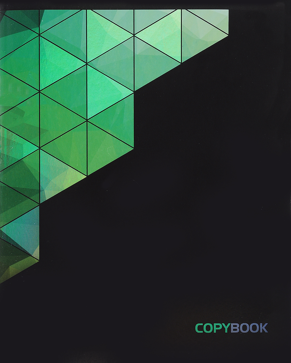 Канц-Эксмо Тетрадь Контрасты 48 листов в клетку цвет зеленый контрасты осязаемого времени портреты размышления