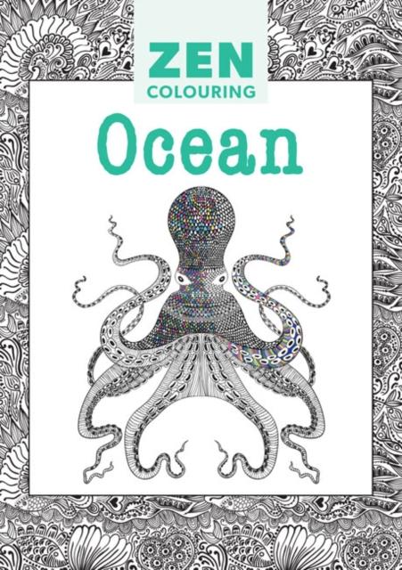 Zen Colouring - Ocean zen colouring nature