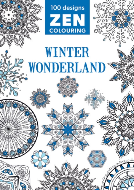 Zen Colouring - Winter Wonderland middle eastern patterns to colour