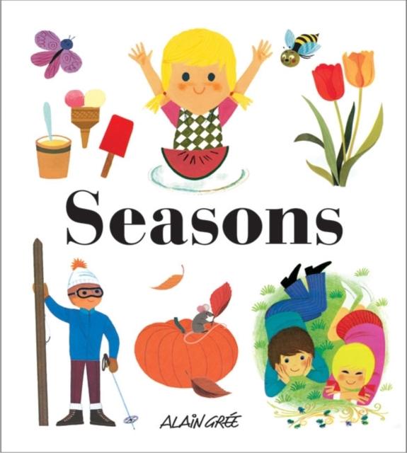 Seasons spring in the garden flowers and seedlings