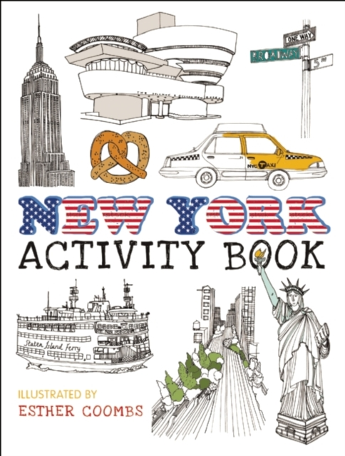New York Activity Book space activity book