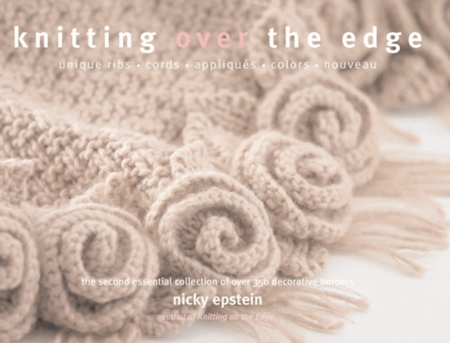 Knitting Over the Edge folk art patterns to colour
