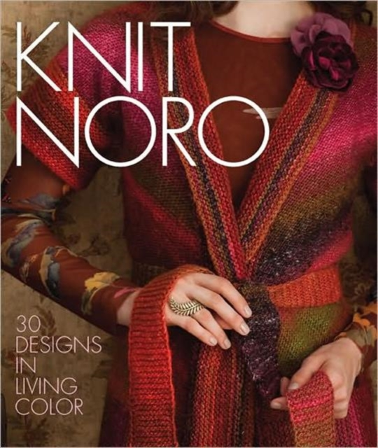 Knit Noro fashion a coloring book of designer looks and accessories