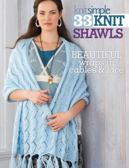33 Knit Shawls loom knit baby wraps