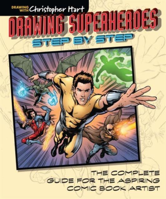 Drawing Superheroes Step-by-Step