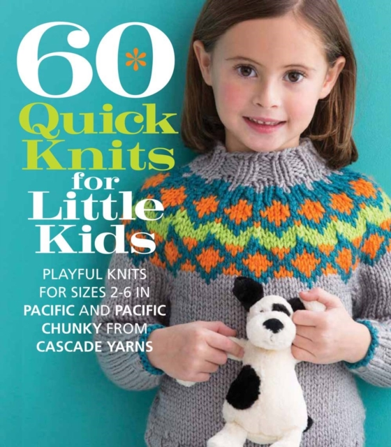 60 Quick Knits for Little Kids a cat a hat and a piece of string