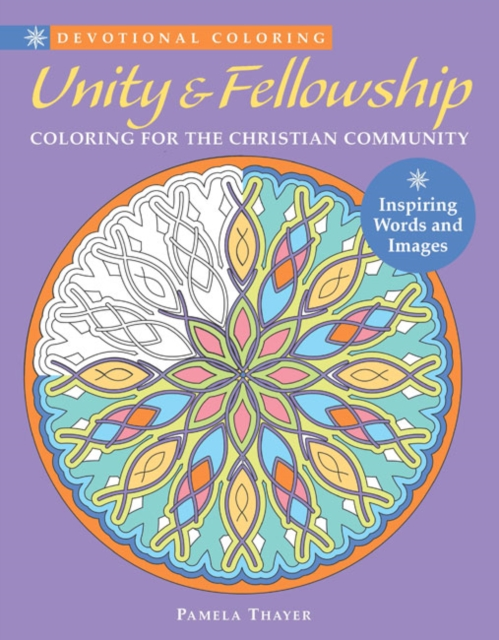Devotional Coloring: Unity & Fellowship coloring of trees
