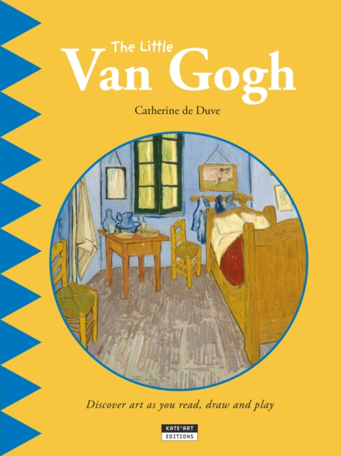 Little Van Gogh hand painted famous oil painting the bedroom at arles c 1887 of vincent van gogh multicolored
