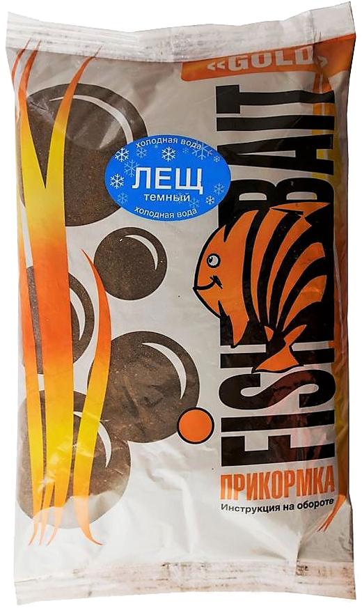 Прикормка для холодной воды FishBait Ice Gold. Лещ темный, зимняя, 1 кг