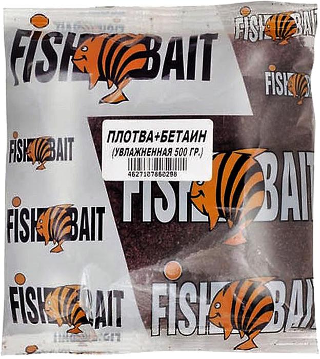 Прикормка для рыб FishBait Ice. Крупная плотва, увлажненная, зимняя, 0,5 кг