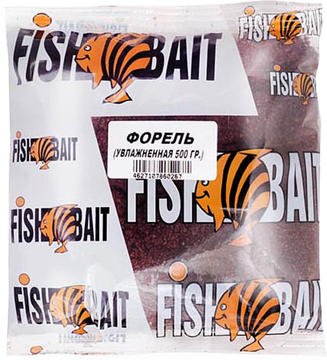 Прикормка для рыб FishBait Ice. Форель, увлажненная, зимняя, 0,5 кг