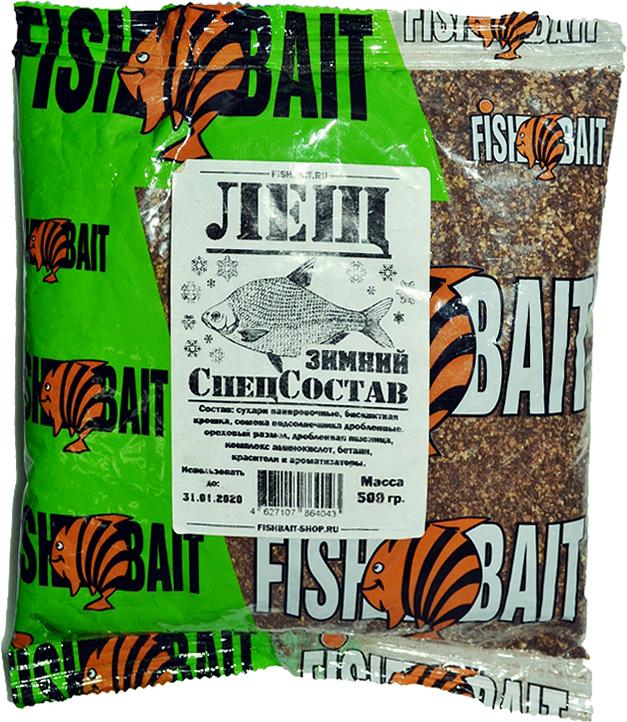 Прикормка для рыб FishBait СпецСостав. Лещ, зимняя, 0,5 кг