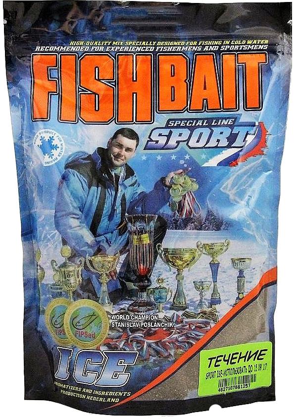 Прикормка для холодной воды FishBait Ice-Sport. Течение, зимняя, 0,75 кг