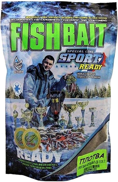 Прикормка для холодной воды FishBait Ready Sport. Плотва, зимняя, 0,75 кг