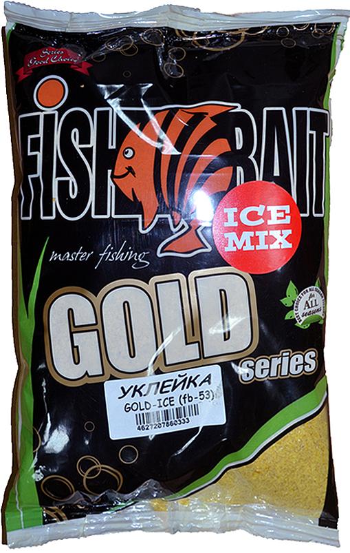 Прикормка для холодной воды FishBait Ice Gold. Уклейка, зимняя, 1 кг