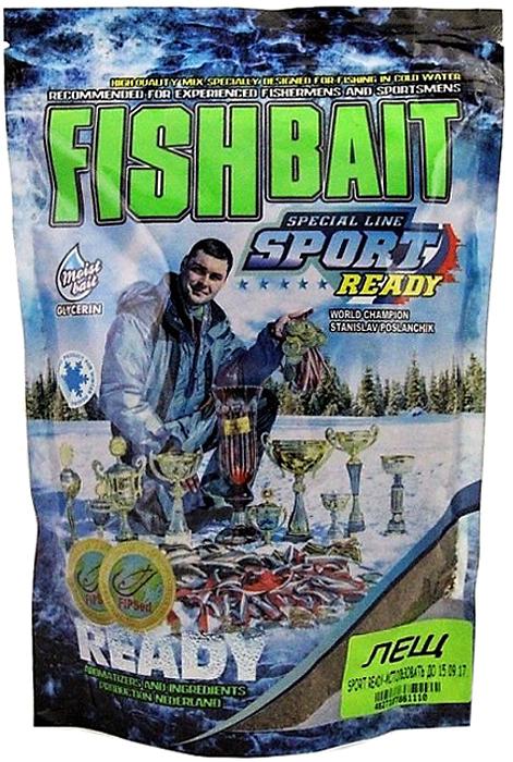 Прикормка для холодной воды FishBait Ready Sport. Лещ, зимняя, 0,75 кг
