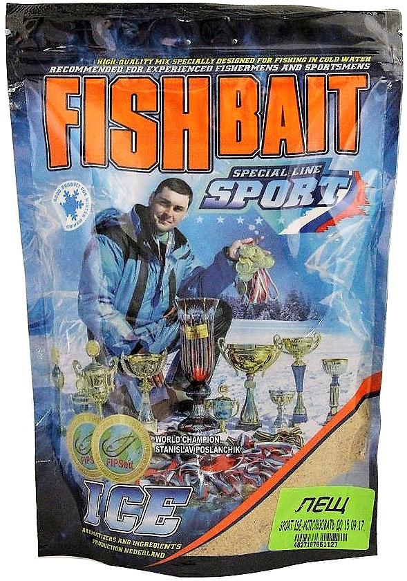 Прикормка для холодной воды FishBait Ice-Sport. Лещ, зимняя, 0,75 кгfbw-8108844Ice-Sport - серия прикормок для холодной воды. Отлично подходит для ловли как в зимний, так и в осенне-весенний периоды. Прикормка упакована в специальный пакет с ультрафиолетовой защитой и оснащенным надежным zip замком, что позволяет использовать ее порционно во время рыболовных сессий и обеспечивает удобное хранение между рыбалками, гарантируя сохранность аромата и оберегая от случайных просыпаний смеси. Особенность этих сухих прикормок заключается в мелкодисперсной смеси, имеющей яркие и интенсивные ароматы, что необходимо при ловле в холодной воде в абсолютном большинстве случаев. Состав прикормки подобран таким образом, что регулируя степень увлажнения можно получить как легкую рассыпчатую и активную прикормку, так и инертную и липкую. Активные всплывающие частицы, в тандеме с оптимальной ароматизацией, активизируют работу прикормки, что позволяет быстро привлечь рыбу с большего расстояния. Лещ: Мелкофракционная смесь средней активности насыщенного желтого цвета с красными вкраплениями, имеет интенсивный аромат кондитерских изделий с шоколадными тонами.