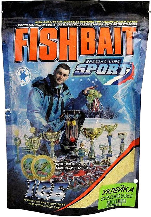 Прикормка для холодной воды FishBait Ice-Sport. Уклейка, зимняя, 0,75 кг