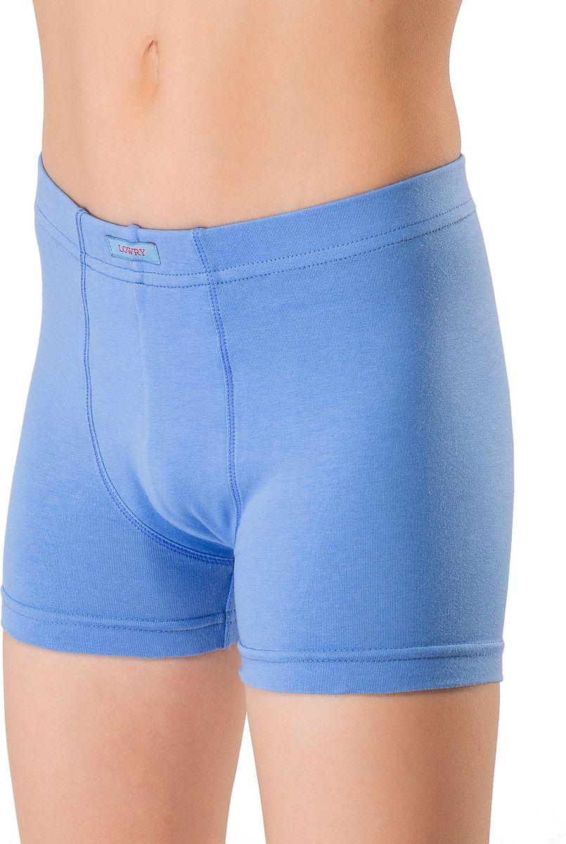 Трусы-боксеры для мальчика Lowry, цвет: синий. BSHL-338. Размер XL (134/140) трусы lowry трусы