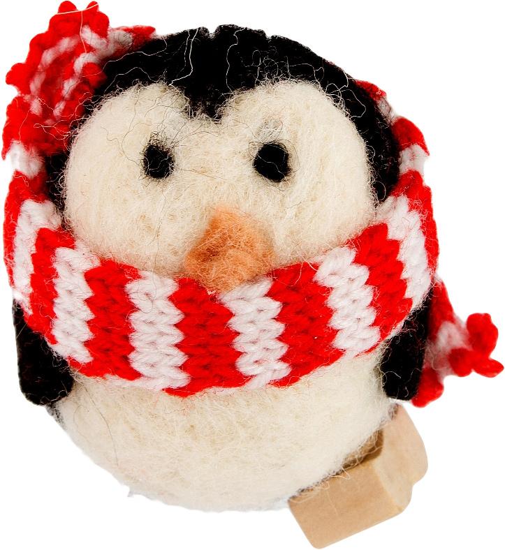 Украшение новогоднее Пингвин. 197407197407Елочная игрушка, символ приближающегося праздника. Она послужит прекрасным подарком как для ребенка, так и для взрослого, а также дополнит новогодний интерьер.