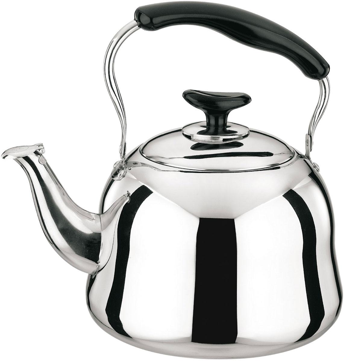 Чайник Rainstahl, цвет: стальной, 3 л. 3505-30RS/KL stahlberg rg чайник для кипячения воды 7 0 л