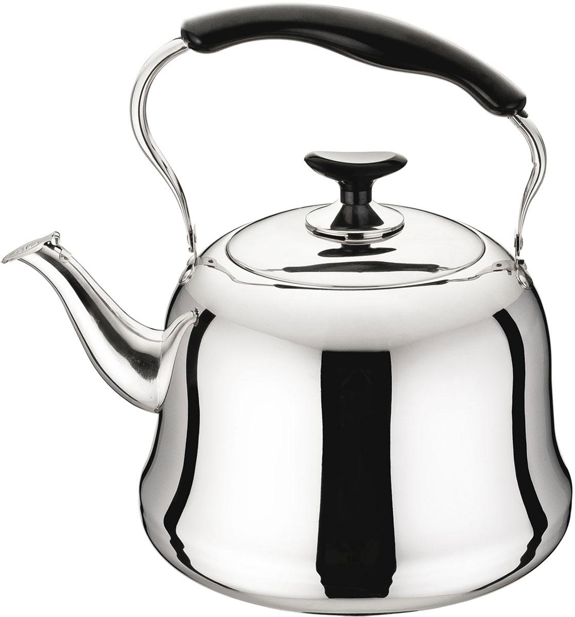 Чайник Rainstahl, цвет: стальной, 5 л. 3505-50RS/KL чайник gipfel для кипячения воды cypress 4 5 л нерж сталь
