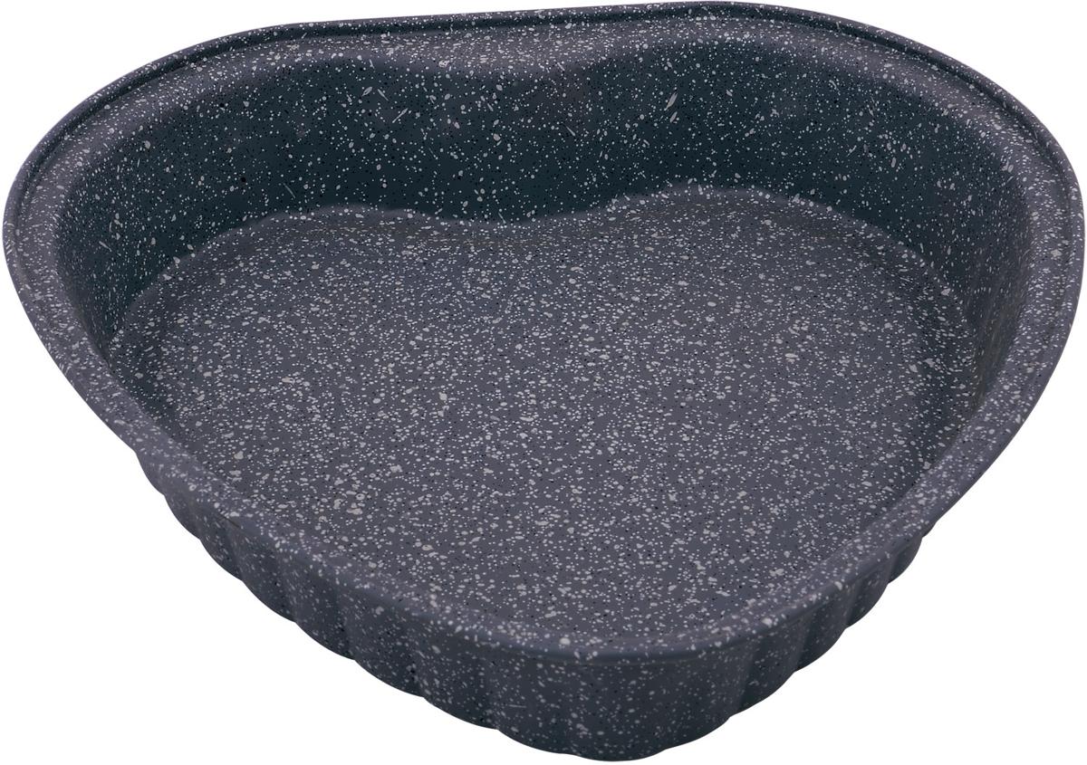 Форма для выпечки Rainstahl, цвет: черный, 27,5 х 27 х 4,5 см. 9720 RS\BT MRB9720 RS\BT MRBФорма для выпечки с мраморным антипригарным покрытием. Основной плюс посуды этого типа заключается в том, что эта посуда не перегревается,соответственно не разрушается антипригарный слой. Мраморное покрытие делает возможным приготовление блюд без масла. Оно обладаетповышенной стойкостью к царапинам и внешним воздействиям. Такая посуда незаменима для приготовления запеканок, всевозможных блюд из мяса и овощей, атак же выпечки теста и изысканных кондитерских блюд.