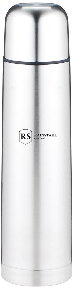 Термос Rainstahl, цвет: стальной, 1 л. 7733-10RS\TH7733-10RS\THТермос с узким горлом. Небьющийся. Вакуумная колба из нержавеющей стали позволяет сохранять тепло долгое время. Кнопочный предохранительный клапан. Легко мыть.