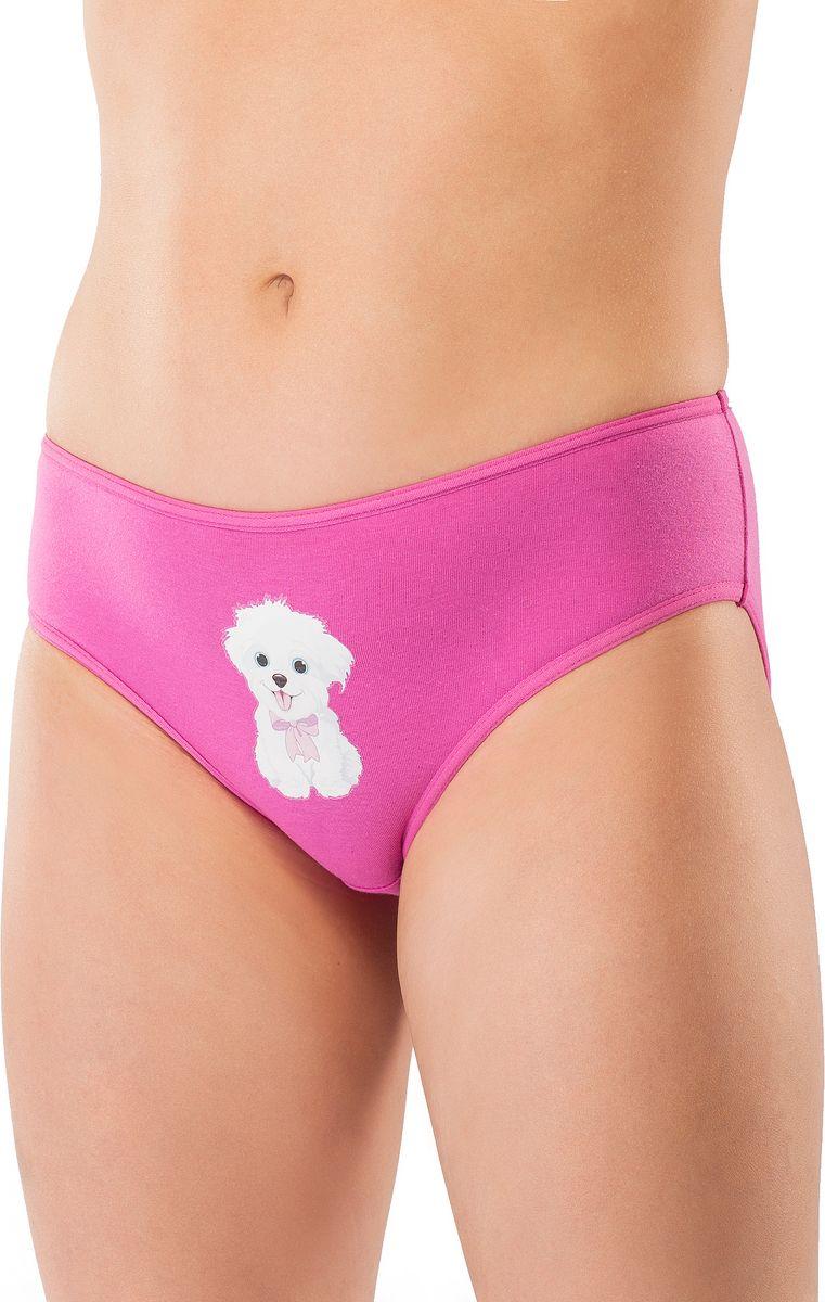 Трусы для девочки Lowry, цвет: розово-сиреневый. GP-299. Размер XL (134/140) трусы lowry трусы