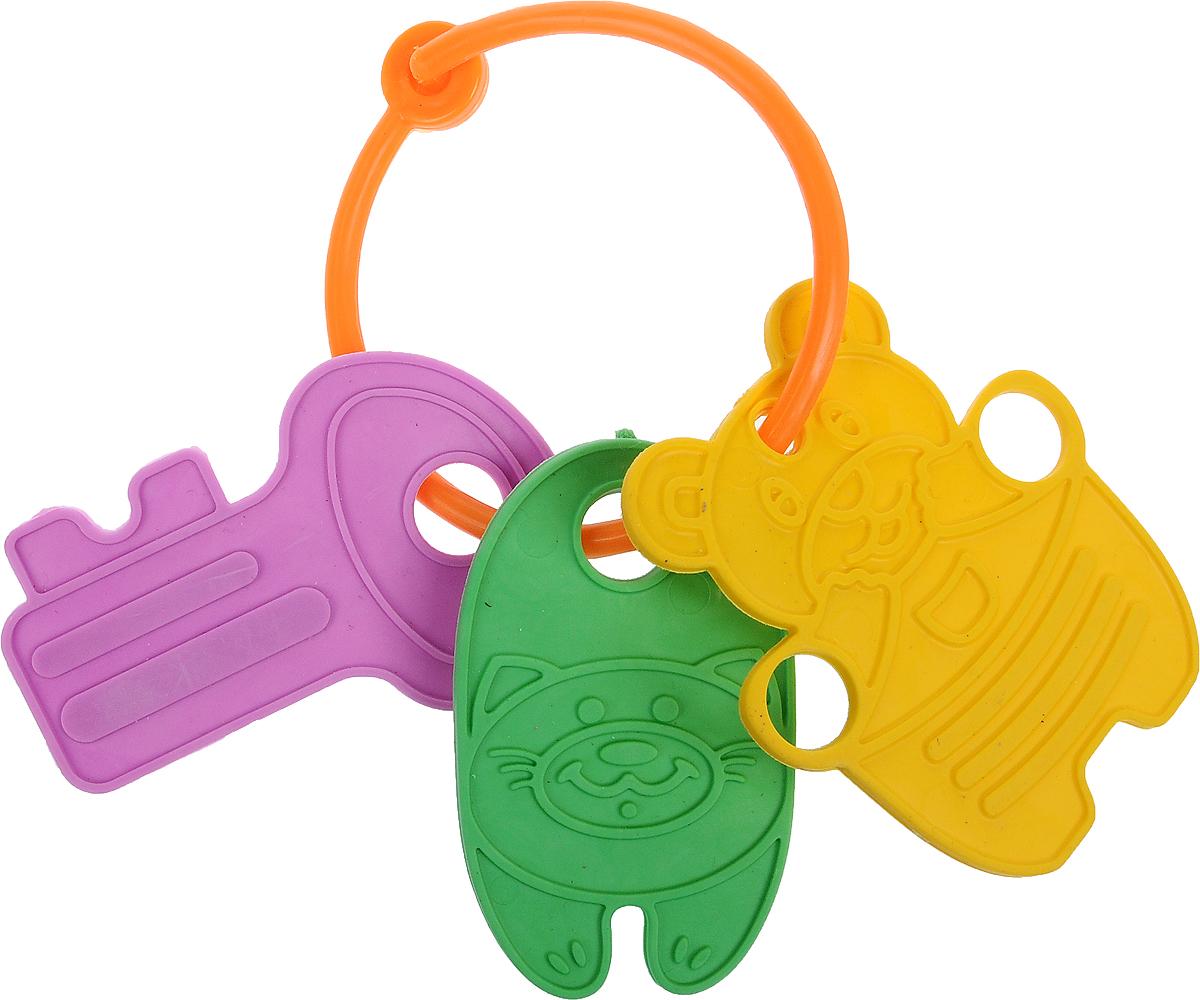 Котики Вперед Прорезыватель Мишка котик ключ цвет желтый, зеленый, фиолетовый