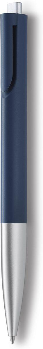 Lamy Ручка шариковая Noto цвет корпуса синий, серебристый черная