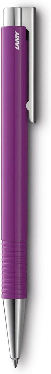 Lamy Ручка шариковая Logo M+ цвет корпуса фиолетовый синяя1230836Lamy logo 204 М+. Отличительные черты этой ручки – чистота формы и высокая функциональность. Надежные материалы и удобство в использовании делают ее хорошим компаньоном на все случаи жизни – это отличная ручка на каждый день. Пружинный стальной клип с встроенным шариком позволяет крепко фиксировать ручку и плавно снимать. Пластиковый корпус дополнен металлическими деталями. Рифленый нескользящий хват.Используется со стержнями большого размера Lamy M16. Поставляется в подарочном тубусе. Дизайн: Вольфганг Фабиан История бренда Lamy насчитывает более 80-ти лет, а его философия заключается в слогане Дизайн. Сделано в Германии. Компания получила более 100 самых престижных дизайнерских наград. Все пишущие инструменты Lamy производятся на фабрике в Гейдельберге (Германия).